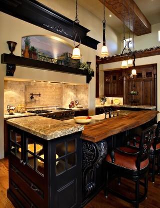 新古典风格客厅300平别墅大气中式餐桌效果图
