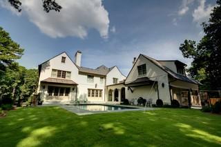 现代简约风格厨房一层别墅及奢华家具室内窗户图片