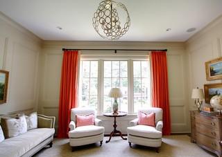 现代简约风格卧室三层别墅及奢华家具懒人沙发图片