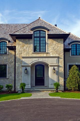 欧式风格客厅一层别墅及奢华家具卧室窗户图片