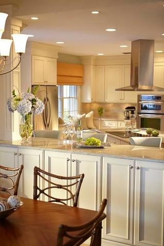 现代简约风格温馨3平方厨房餐桌桌布效果图