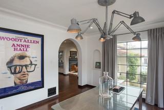 现代简约风格客厅精装公寓温馨卧室红木家具餐桌效果图