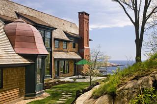 现代简约风格厨房200平米别墅温馨客厅窗户效果图