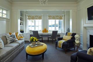现代简约风格小型公寓唯美懒人沙发效果图