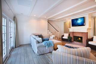 现代简约风格客厅3层别墅卧室温馨懒人沙发效果图