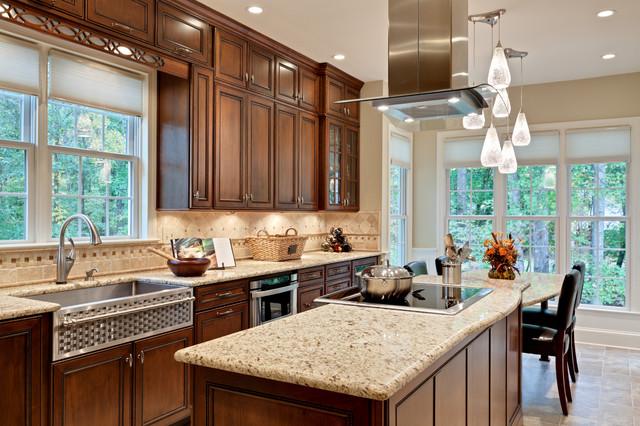 现代简约风格唯美3平方厨房红木家具餐桌效果图