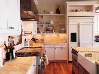 现代简约风格大气2013整体厨房橱柜图片