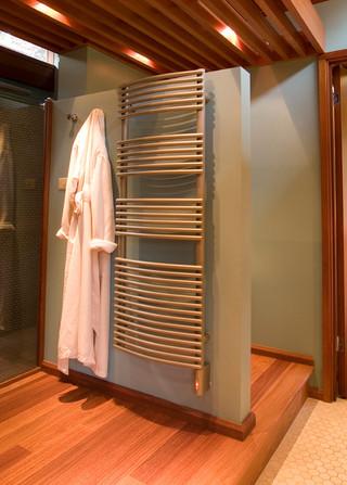 现代简约风格餐厅三层半别墅大气品牌整体淋浴房定做