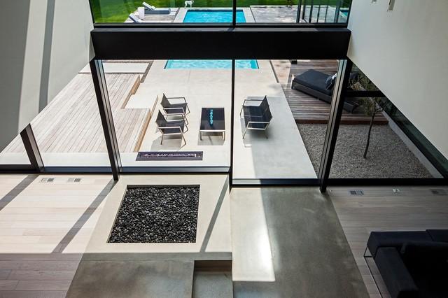 现代简约风格客厅三层别墅舒适16平米客厅效果图