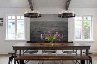 现代简约风格卫生间欧式别墅古典家居实木餐桌图片