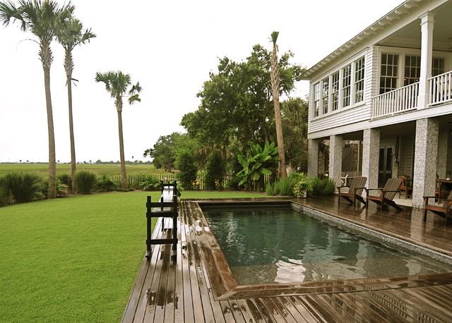 美式风格卧室200平米别墅别墅游泳池装潢