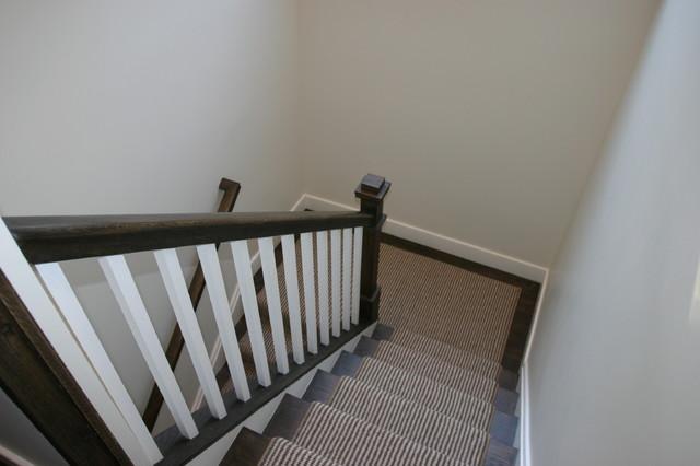 现代简约风格餐厅乡村别墅温馨装饰室内楼梯装修图片