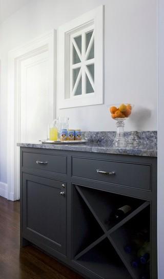 简约中式风格酒店公寓稳重2014家装厨房设计