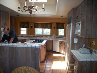 新古典风格卧室三层平顶别墅奢华2013家装厨房设计图