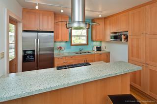 现代简约风格卧室大气6平米厨房快餐桌图片