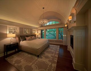 欧式风格卧室2013年别墅艺术家具卧室榻榻米床效果图
