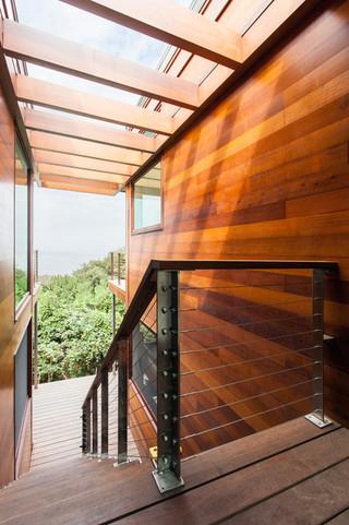 现代简约风格客厅三层连体别墅简单温馨窗户图片