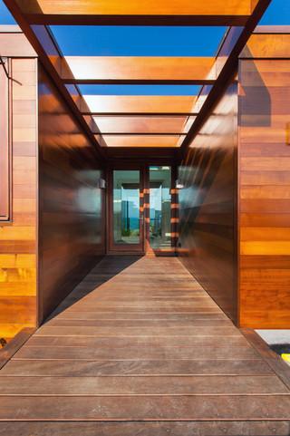现代简约风格三层双拼别墅简单温馨客厅窗户效果图