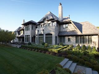 欧式风格卧室一层别墅及大气室内窗户效果图