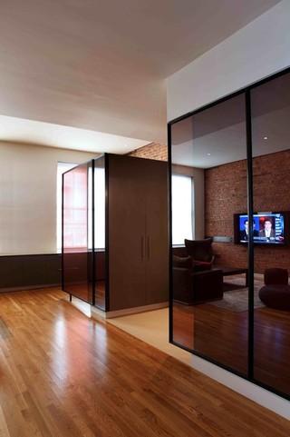 现代简约风格卫生间复式公寓大气卧室窗户效果图