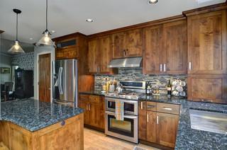 欧式风格客厅实用卧室2012家装厨房橱柜图片
