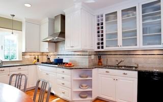 欧式风格温馨装饰2012厨房橱柜效果图