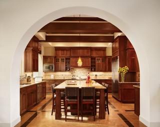 欧式风格家具三层独栋别墅浪漫婚房布置家庭餐桌图片