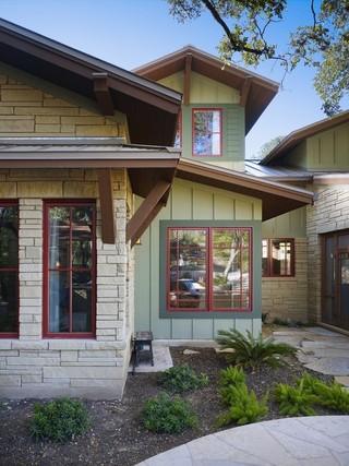 现代欧式风格三层别墅浪漫婚房布置客厅窗户效果图