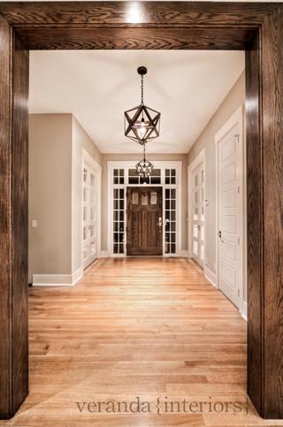 新古典风格卧室3层别墅低调奢华阳台窗户效果图