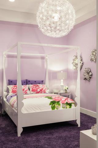 现代简约风格厨房精装公寓唯美卧室上下床图片