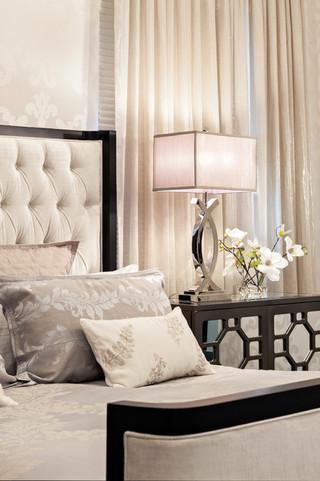 现代简约风格小型公寓唯美儿童房高低床图片