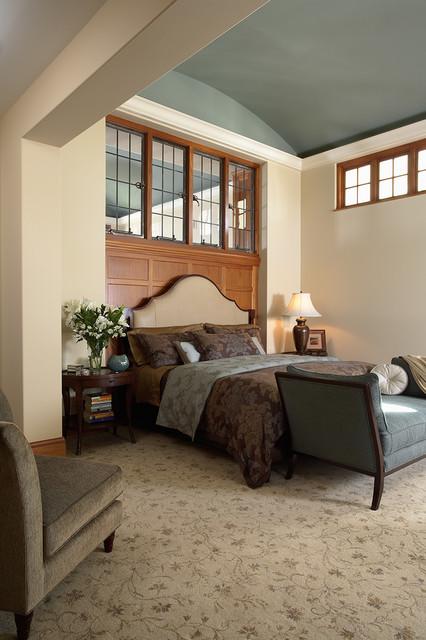 现代简约风格卧室三层独栋别墅大气儿童房高低床效果图