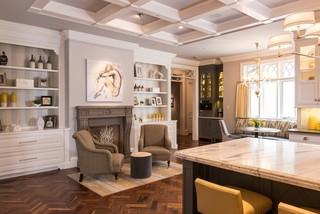 欧式风格卧室三层独栋别墅奢华家具懒人沙发效果图