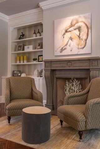 欧式风格卧室三层小别墅欧式奢华懒人沙发效果图