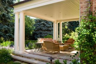 新古典风格客厅一层半小别墅现代奢华双人沙发图片