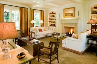 新古典风格卧室三层连体别墅奢华家具三人沙发图片