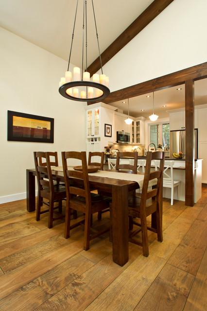 新古典风格三层连体别墅欧式奢华圆形餐桌效果图