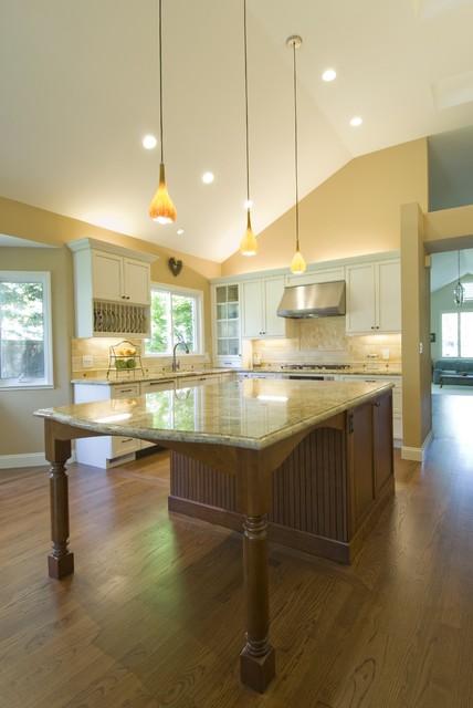 现代简约风格餐厅实用2012厨房欧普照明吸顶灯图片