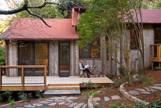 美式乡村风格14平米卧室阳台窗户效果图