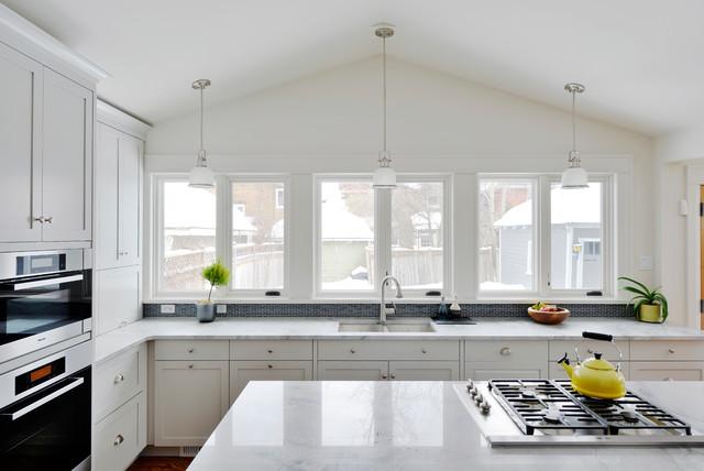 古典奢華歐式別墅廚房現代設計