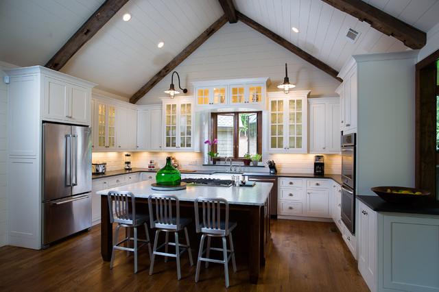 欧式风格三层连体别墅奢华家庭餐桌效果图