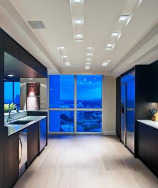 现代简约风格客厅一层别墅现代奢华室内窗户图片