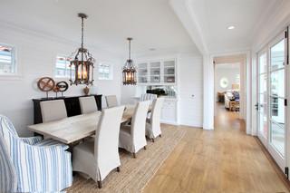 欧式风格客厅200平米别墅浪漫婚房布置红木家具餐桌图片