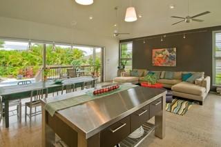现代简约风格厨房大气2014客厅窗帘转角沙发图片