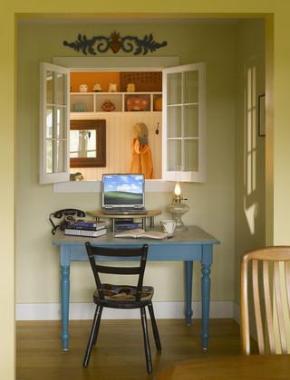 现代简约风格卫生间三层半别墅大方简洁客厅飘窗书桌效果图