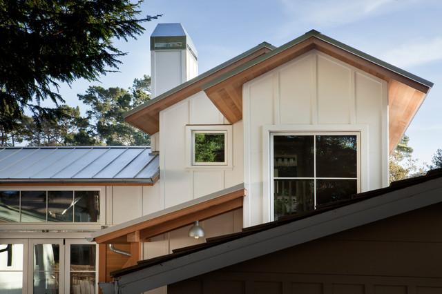 现代简约风格三层连体别墅效果图