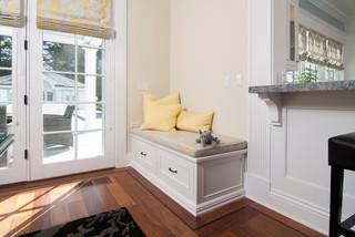 欧式风格客厅三层双拼别墅大方简洁客厅玄关柜效果图