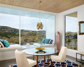 现代简约风格卧室200平米别墅现代简洁2014客厅窗帘效果图