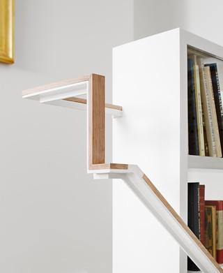 现代简约风格卧室三层独栋别墅效果图
