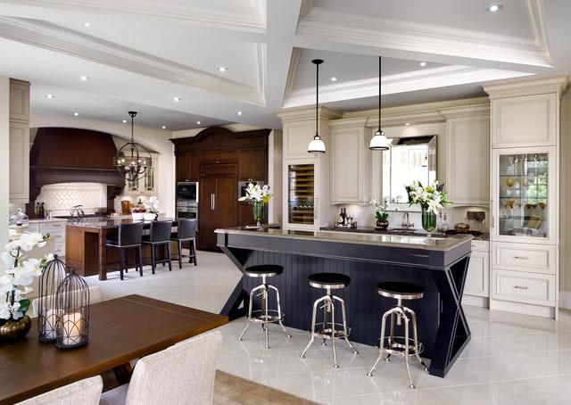 现代简约风格卫生间2层别墅简单实用厨房餐厅效果图